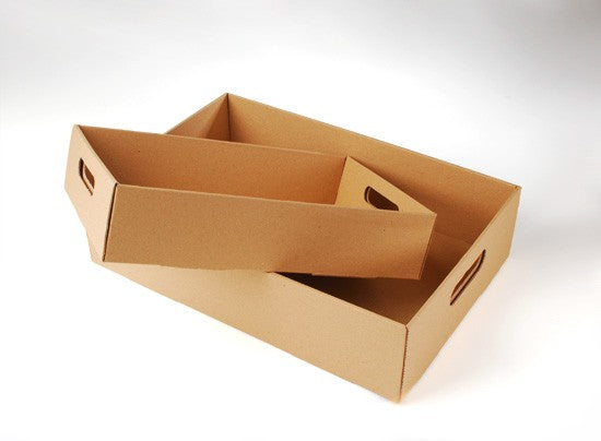 Large Cupcake Box wit Tray and Lid - cake boxes, cupcake boxes, thecakeboxes