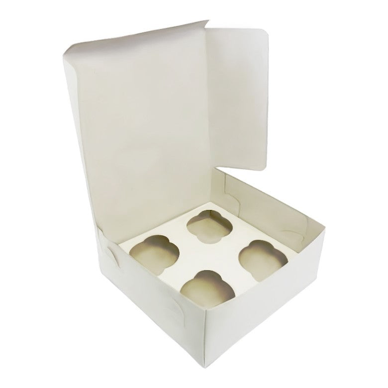 50 Value & Quality  Cupcake Boxes for Holds 4 - cake boxes, cupcake boxes, thecakeboxes