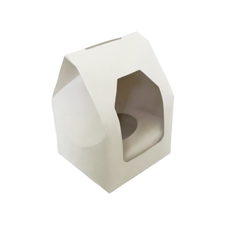 200 Single Cupcake Boxes with window with Inserts (£0.29 each) - cake boxes, cupcake boxes, thecakeboxes