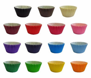 500  Muffin Cases in multiple colours - cake boxes, cupcake boxes, thecakeboxes