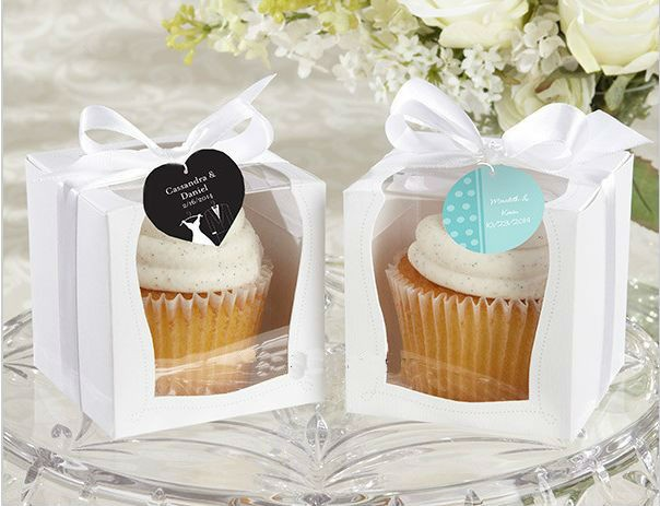 Single Cupcake Boxes with Window - cake boxes, cupcake boxes, thecakeboxes