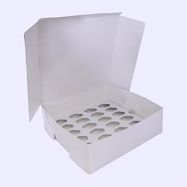 24 mini cupcake boxes- Pack of 50- £39.95 - cake boxes, cupcake boxes, thecakeboxes