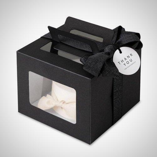 Mini Cake Boxes Black - cake boxes, cupcake boxes, thecakeboxes
