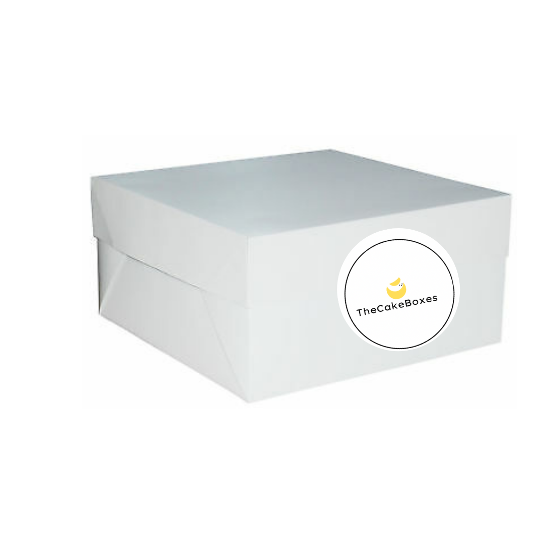 White Cake Boxes - thecakeboxes