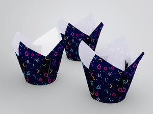 Muffin Wrappers Tulip - cake boxes, cupcake boxes, thecakeboxes