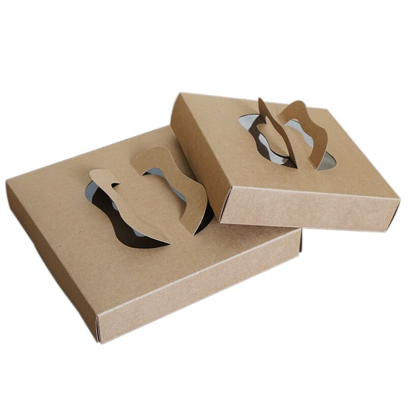 Kraft paper box cake pastry boxes - thecakeboxes