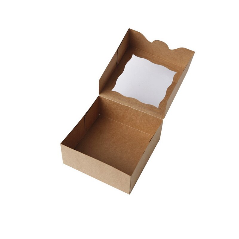 Premium Bakery Cupcake Cookie -Small Cake Boxes with Window - thecakeboxes