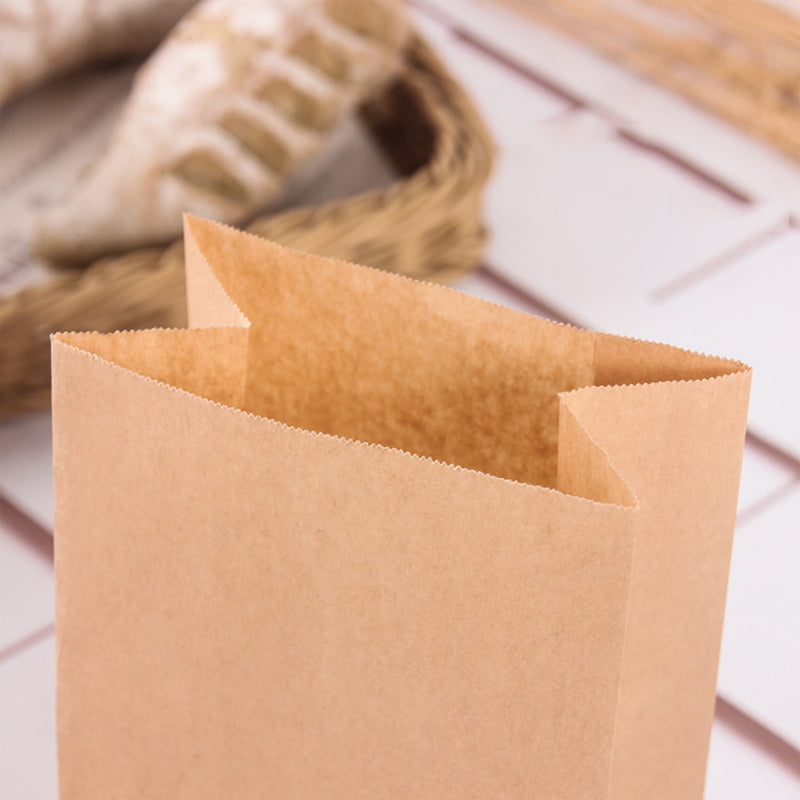 Bakery Food Kraft Paper Bags Food