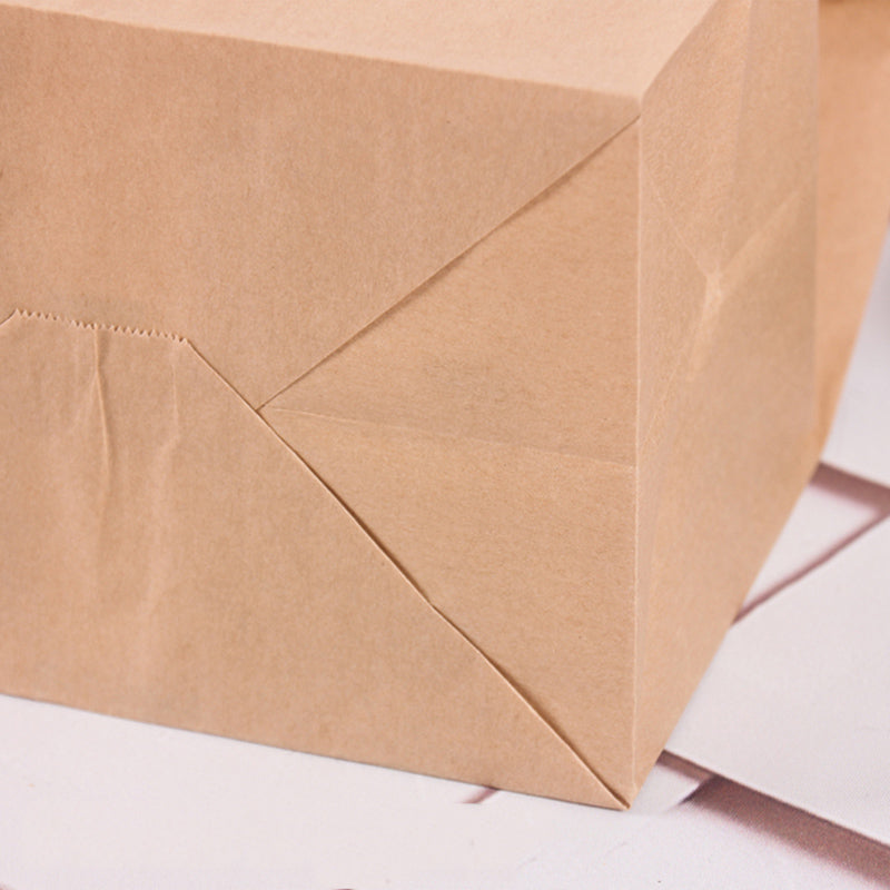 Bakery Food Kraft Paper Bags Food - thecakeboxes