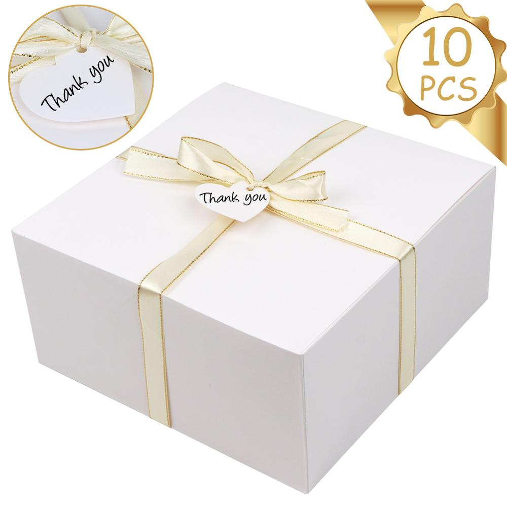 Premium White Cake Boxes - thecakeboxes
