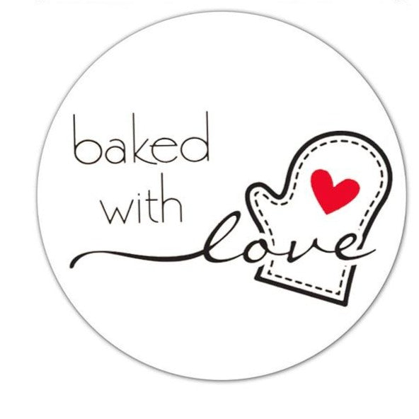 Baking Stickers - cake boxes, cupcake boxes, thecakeboxes