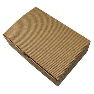 DHL 100Pcs/Lot 18*12*5cm Corrugated Kraft Paper Box Carton Box Wedding Birthday Party Favors Candy Baking Cake Pack Package - cake boxes, cupcake boxes, thecakeboxes