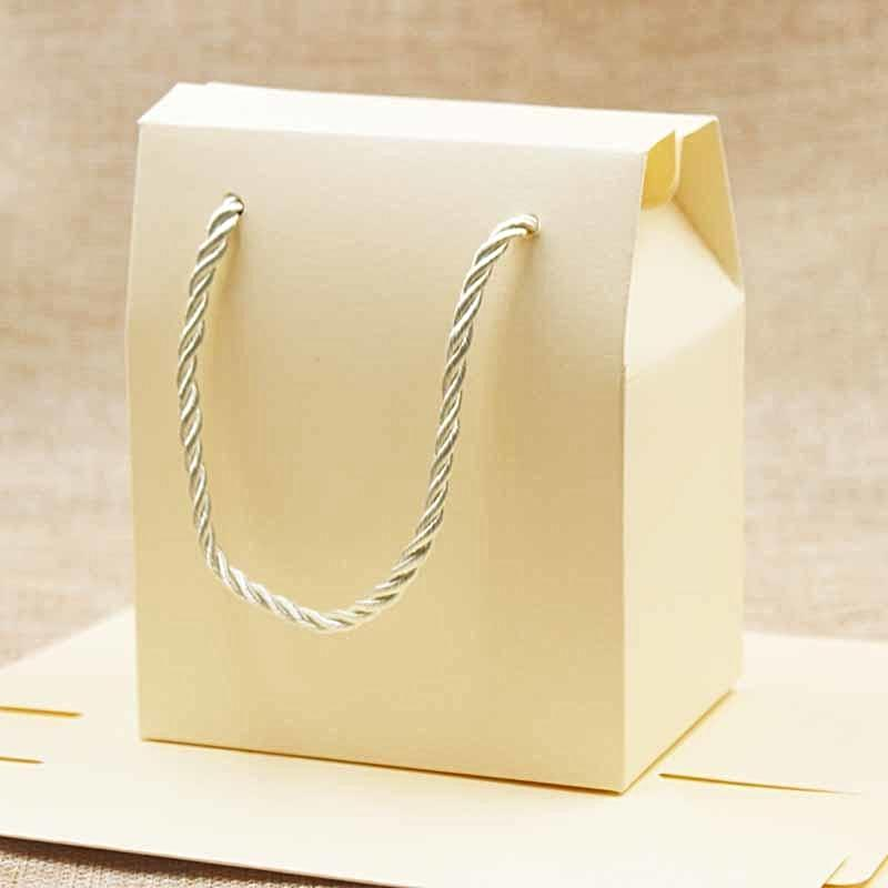 Wedding Favour Boxes with Handle