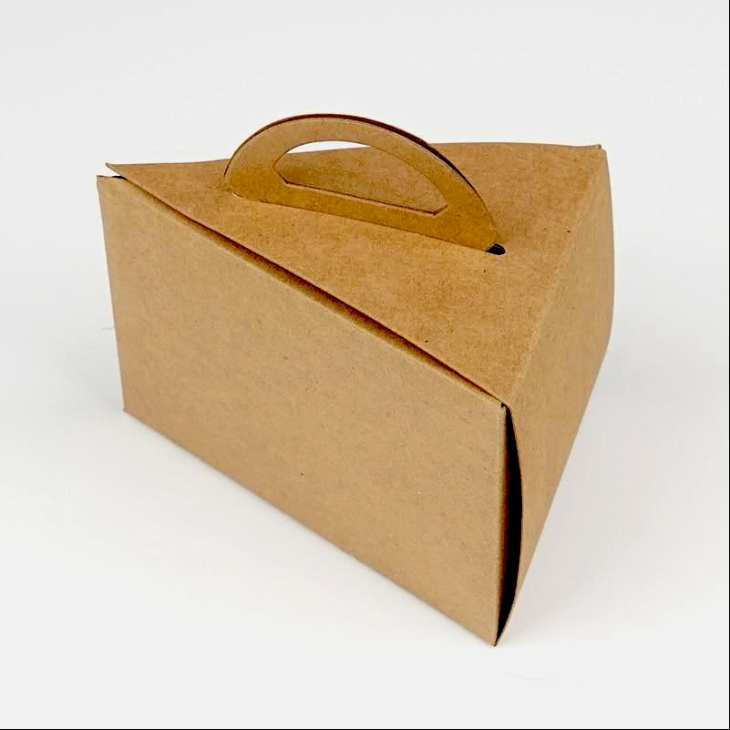 Single Cake Slice Boxes with Handle - cake boxes, cupcake boxes, thecakeboxes