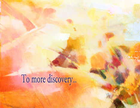To more discovery...
