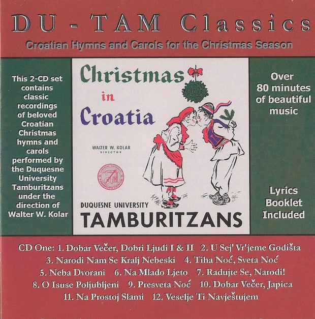 Christmas in Croatia CD