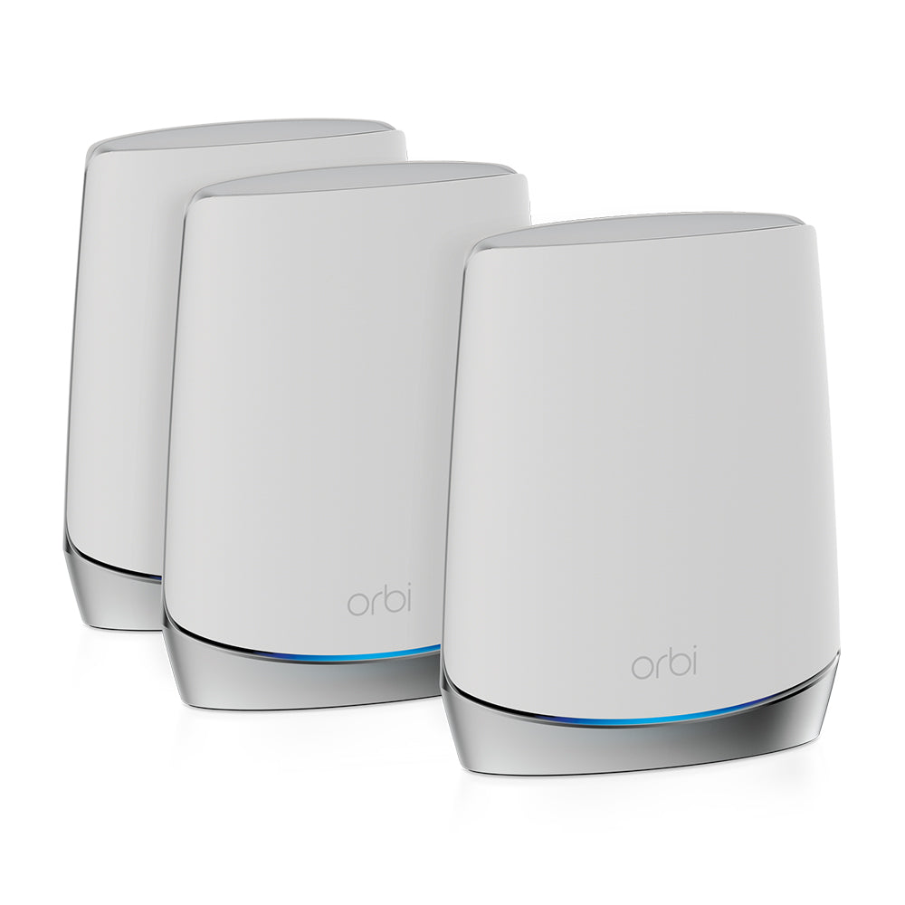 Orbi RBK753 Mesh WIFi 6 System and Wall Mount Kit Bundle