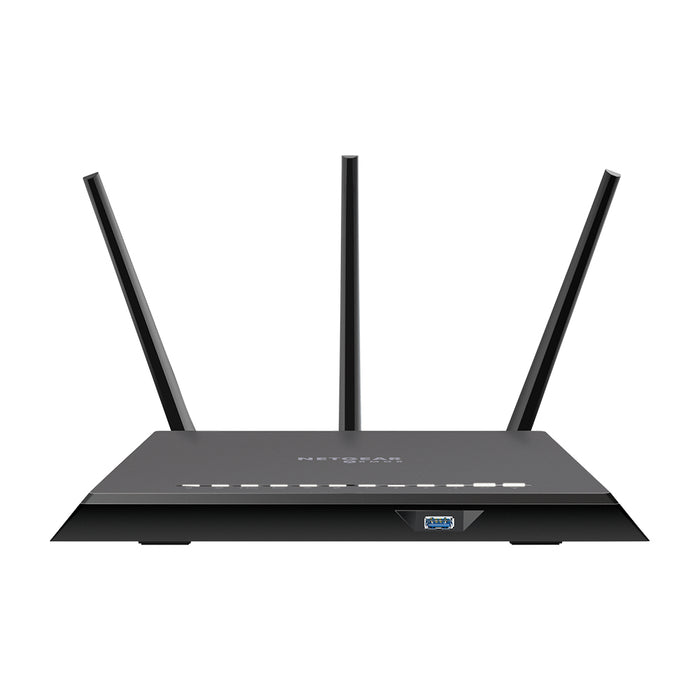 NETGEAR Nighthawk Cybersecurity Smart WiFi Router (RS400) - AC2300 Wireless Speed (up to 2300 Mbps) | 4 x 1G Ethernet and 2 USB Ports | Includes 3 Years of Armor Security