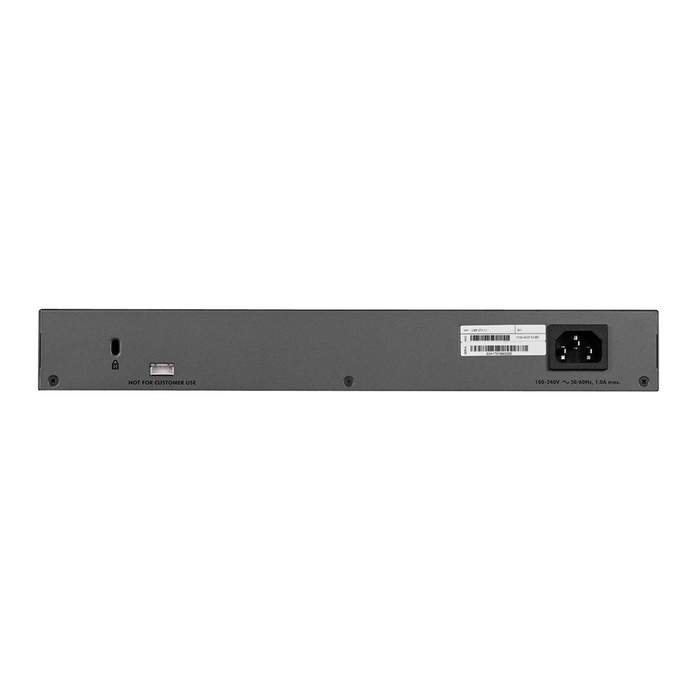 NETGEAR 10-Port Multi-Gigabit/10G Smart Managed Pro Switch (MS510TX) - with 1 x 10G SFP+, Desktop/Rackmount, and ProSAFE Limited Lifetime Protection