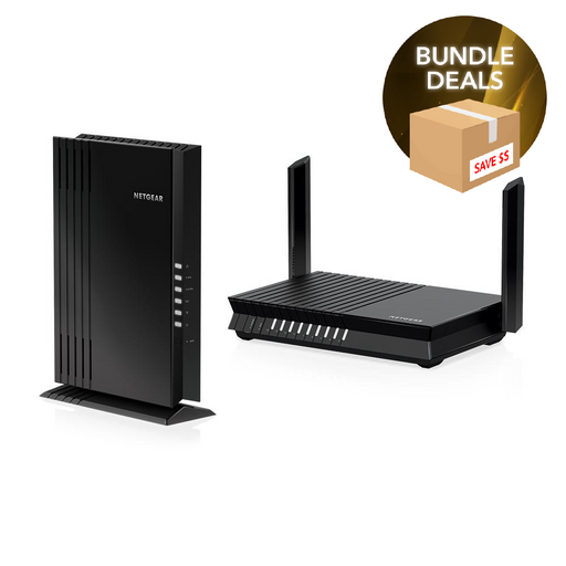 Nighthawk RAX20 and EAX20 WiFi 6 Bundle
