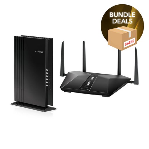 Nighthawk RAX50 and EAX20 WiFi 6 Bundle