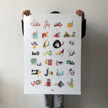 Load image into Gallery viewer, Printed Kids Abjadiya Poster (35,000LBP)