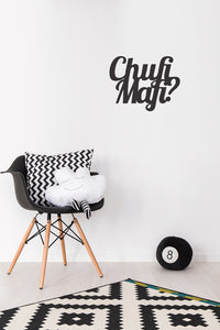 Wall Sticker Chufimafi (35,000 LBP)