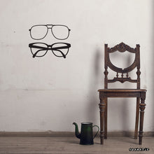 Load image into Gallery viewer, Wall Sticker Eyeglasses