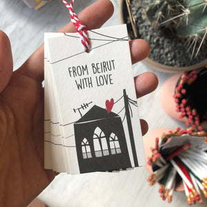 Gift Tag From Beirut