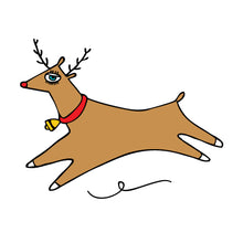 Load image into Gallery viewer, Temporary Tattoo Reindeer
