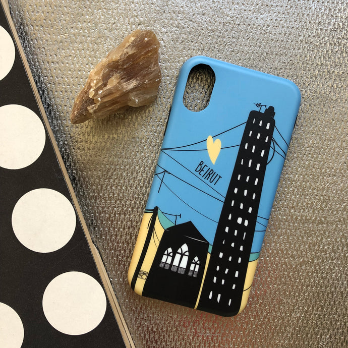 Phone Cover Beirut Love