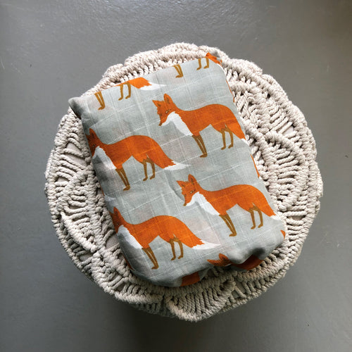 Blanket/Swaddle Fox (60,000LBP)