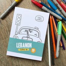 Load image into Gallery viewer, Lebanon Coloring Pad
