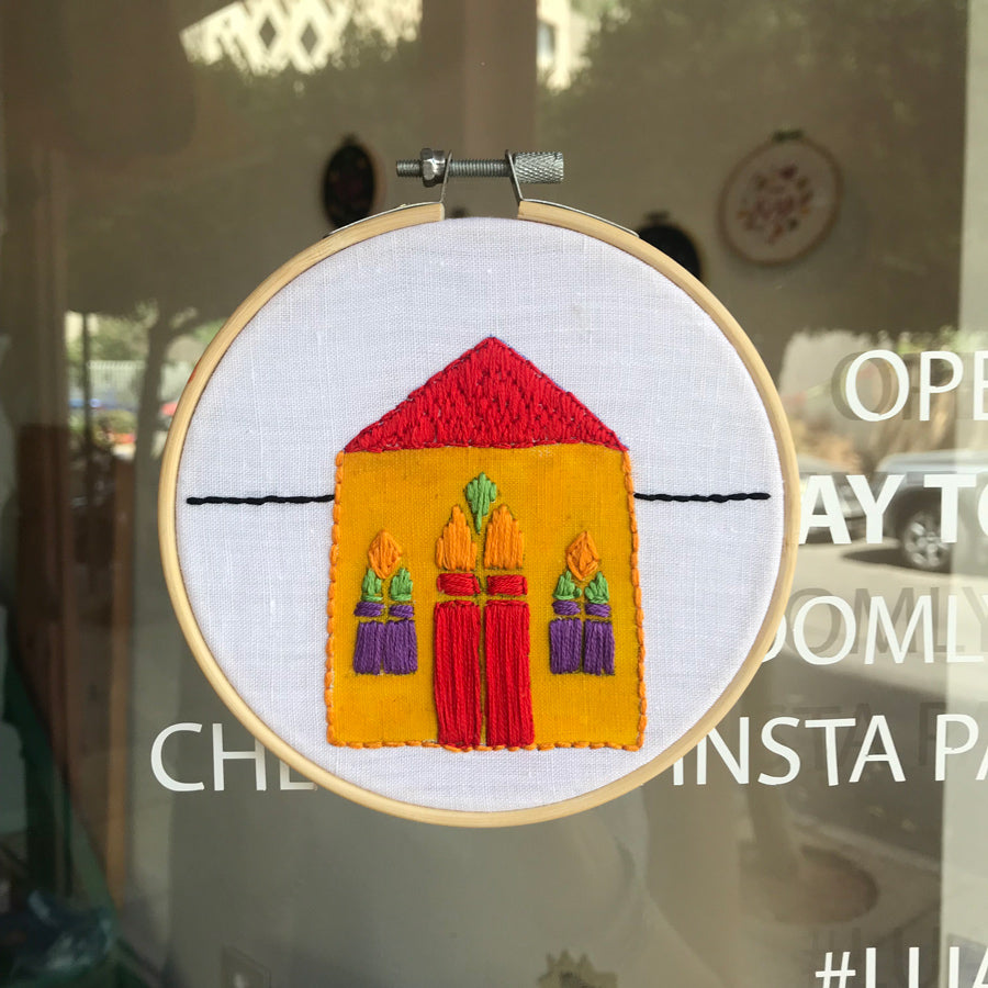 Embroidered Hoop House (60,000LBP)