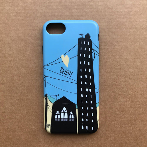 Phone Cover Beirut Love (ON SALE! NOW AT 25,000LBP!!!)