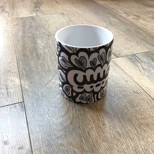 Mug Habibi Black and White (24,000LBP)