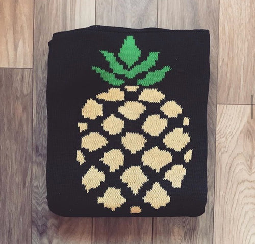 Blanket pineapple double sided (100,000LBP)