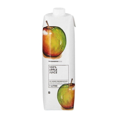 100% Apple Fruit Juice 1L Fresh Food