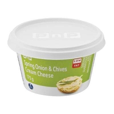 PnP Low Fat Spring Onion & C hives Cream Chee 175 GR