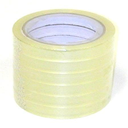 Tape Clear 2Pk 12Mm