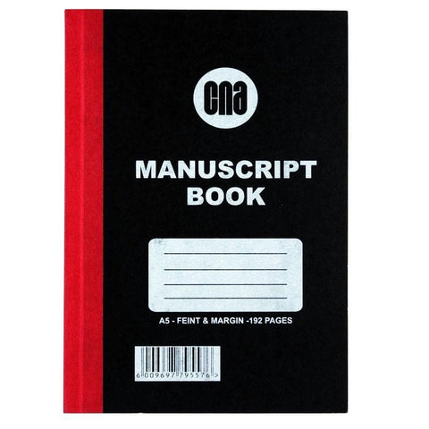 Manuscrip Bk A5 192Pg F M