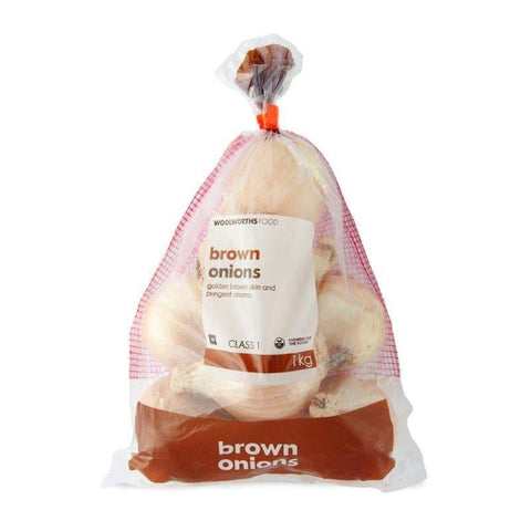 Brown Onions 1Kg