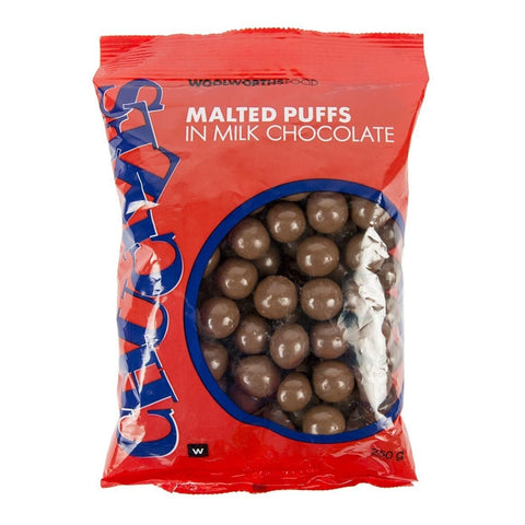 Chuckles Malted Puffs  250g