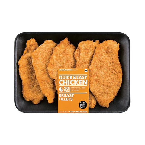 Crumbed Chicken Breast Fillets Avg 900g