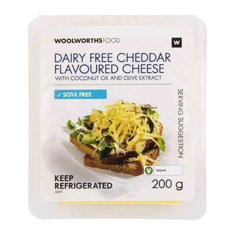 Dairy Free Cheddar Flavoured Cheese 200g