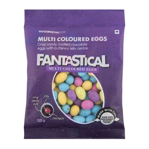 Fantastical Multi Coloured Eggs 125g