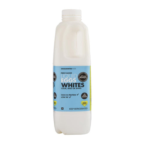 Free Range Liquid Egg Whites 1L