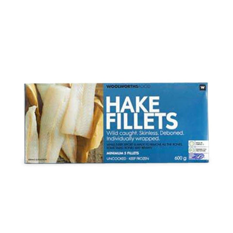 Frozen Hake Fillets 600g