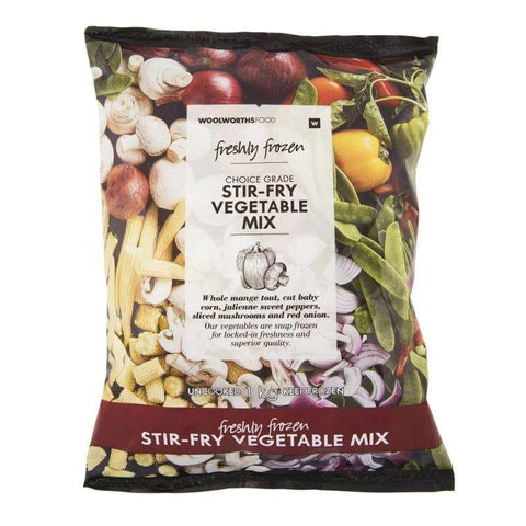Frozen Stir-Fry Vegetable Mix 1Kg