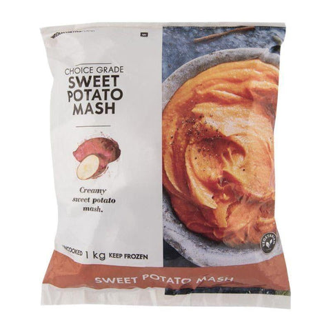 Frozen Sweet Potato Mash 1Kg